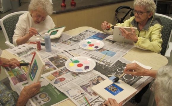 Fun ideas for alzheimers weekly field trips simple for Craft activities for seniors