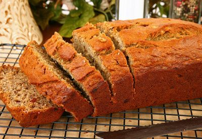 Rays Food Place - Recipe: Double Crunch Banana Bread