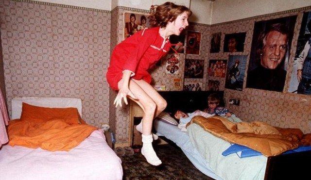 L'affaire du célèbre poltergeist dans une maison d'Enfield dans les années 1970