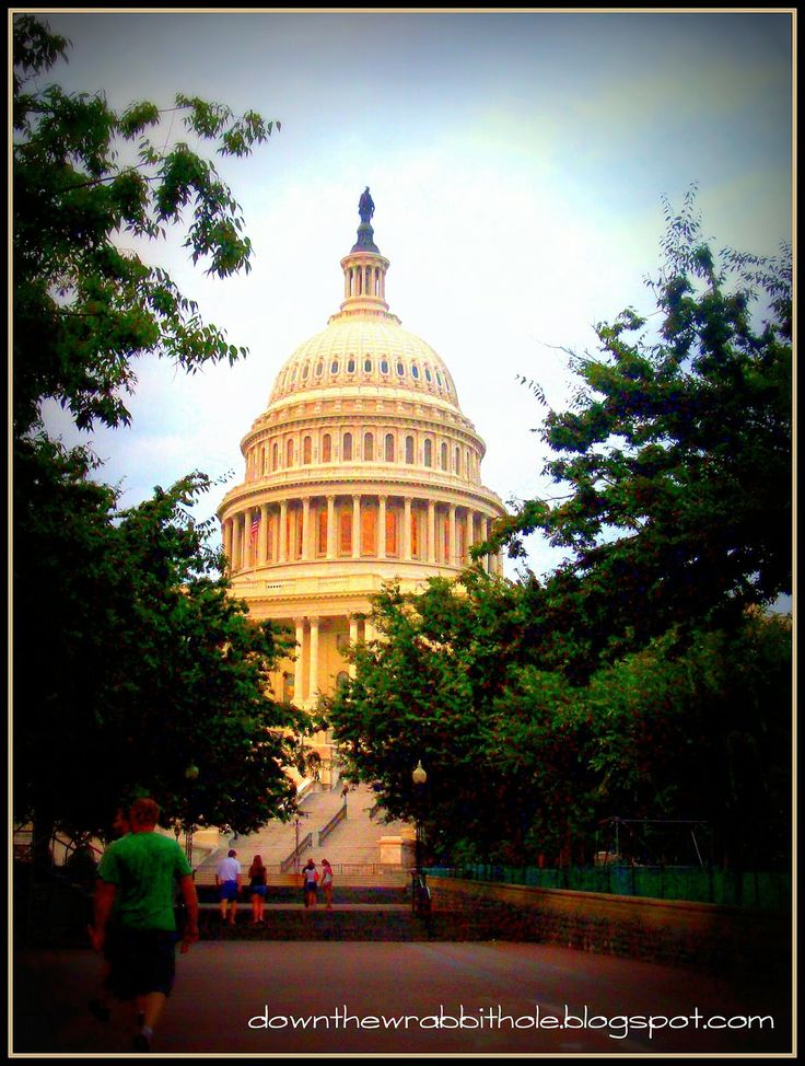 "Visit America's capital building in Washington DC. Find out more at ""Down the Wrabbit Hole - The Travel Bucket List"". Click the image for the blog post."