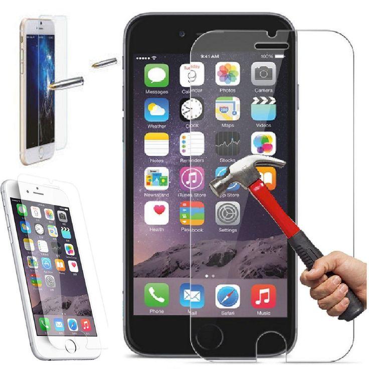 "Apple 4.7"" iPhone 6 / 6S Premium Slim Tempered Glass Film Screen Protector  #iPhone #iPhoneProtector #iPhoneScreen #screenprotector"