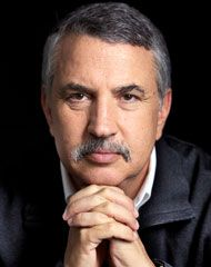 Thomas Friedman has written some of my favorite and most informative books, including Lexus and the Olive Tree.  He's always worth reading.
