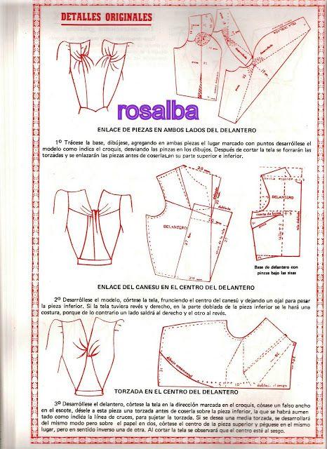 metodo de corte y confeccion - rosalba3 /ropuge - Álbumes web de Picasa:
