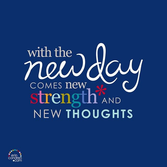 Smile It 39 S A New Day Quotes Inspiration Startfresh Erincondren Ecquotes Quotes