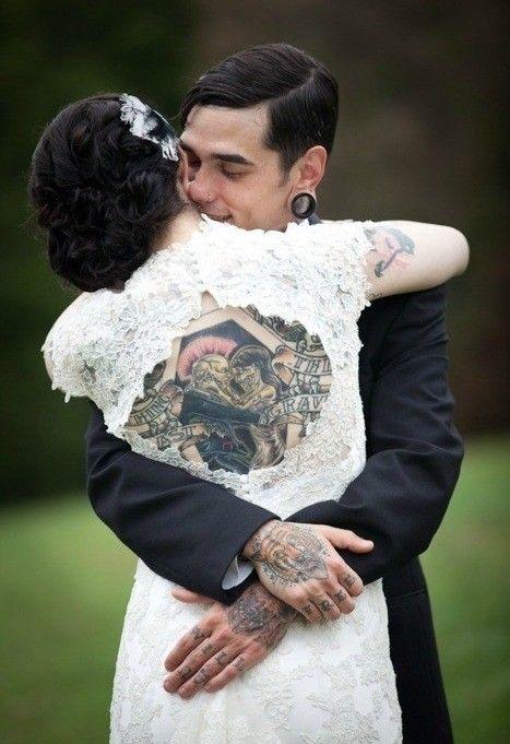tattoo bride