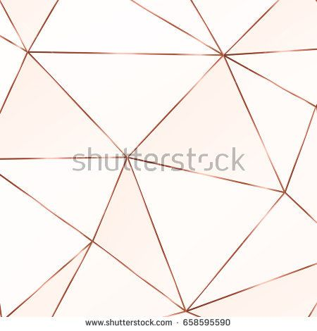 Copper triangles. Geometric shapes. Bronze polygonal texture. Diamond pattern. Template for creative designs, card, invitation, party, birthday, wedding, anniversary, save the date, business. - Shutterstock Premier