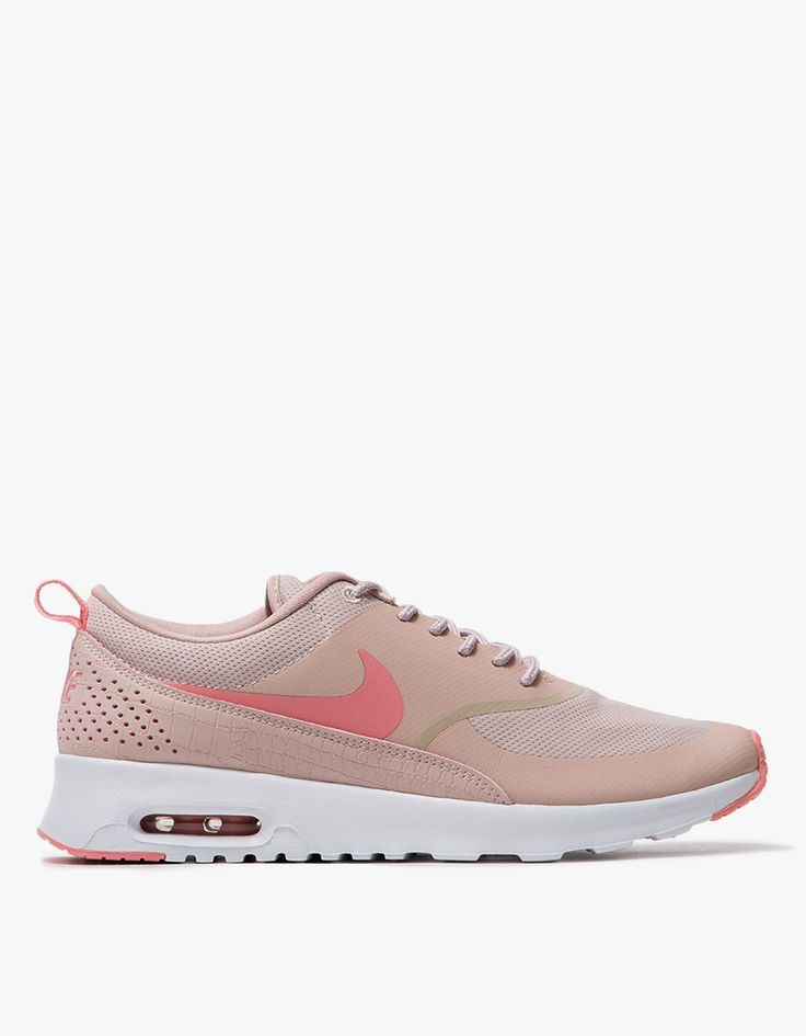 nike air max thea synthetic grey/pink/white pill kids may have not capsule