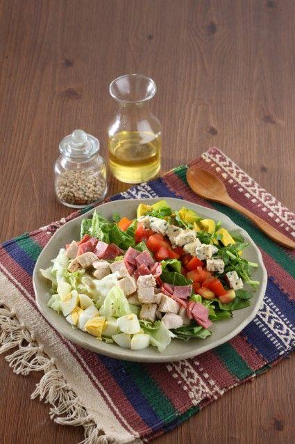 Salad Buah Daging Asap