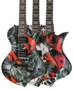 Fernandes Guitars Ravelle Shin Series