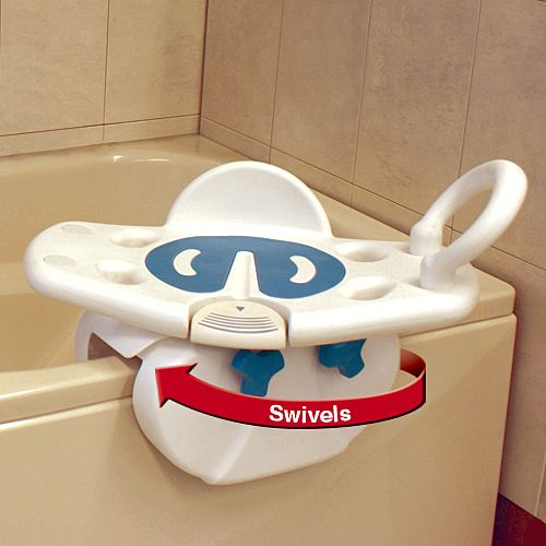 Possibly the safest way to get in and out of a bathtub ever! Multi-function swivel tub seat grants you fast access without the need for assistance.