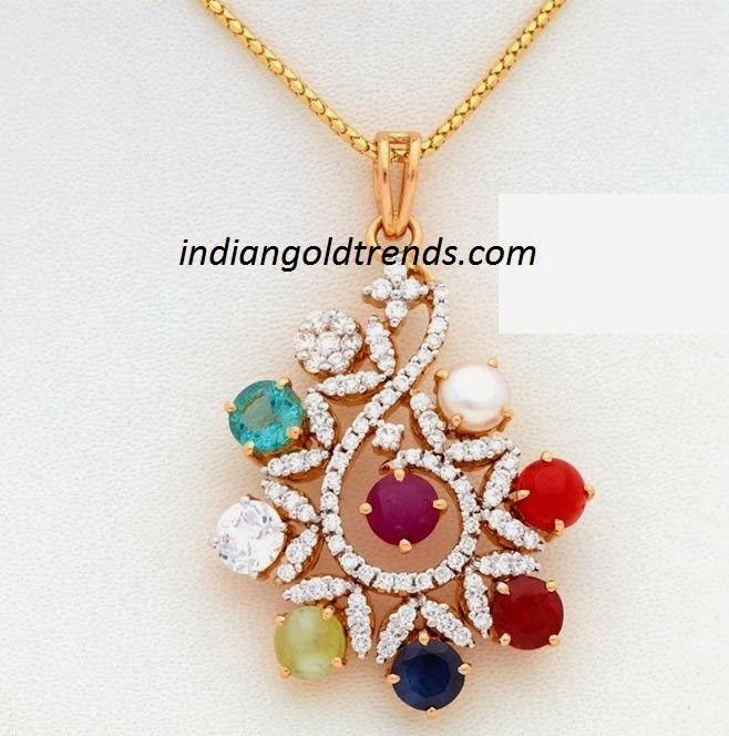 peacock diamond jewellery designs - Google Search