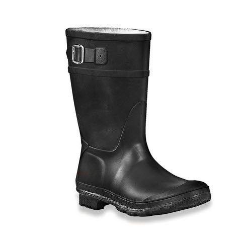 Kamik Raindrops Rain Boot - Black