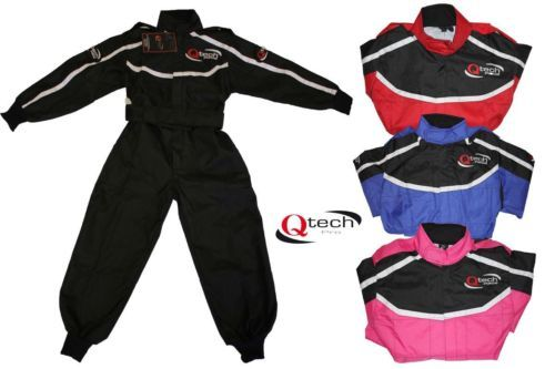 Childrens-Kids-RACE-SUIT-ATV-Quad-Karting-Motocross-Dirt-Bike-motorcross-Qtech £26.95  01270 841877