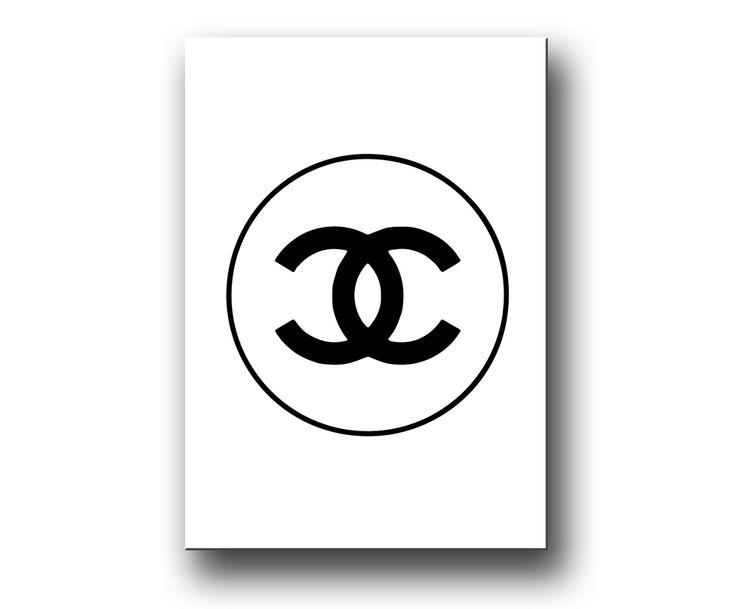 """""""Chanel"""" Fashion Posters & Prints"""