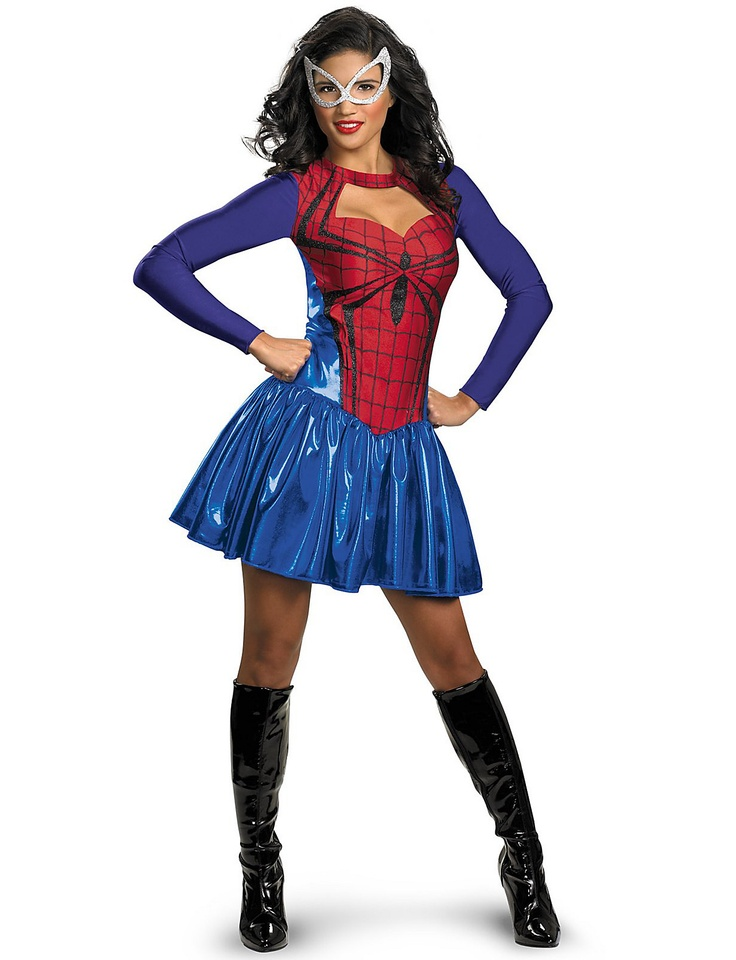 disguise women of marvel spider girl classic adult costume redblue - Size 18 Halloween Costumes