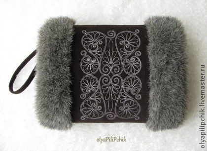 ♔ Luxury Fur | Hand warmer Handmade.