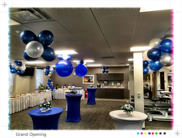 Professional grand opening balloon display for the Atrium Medical Center by Balloon Elevations, LLC in OH & WV #grandopening #balloons #specialevents