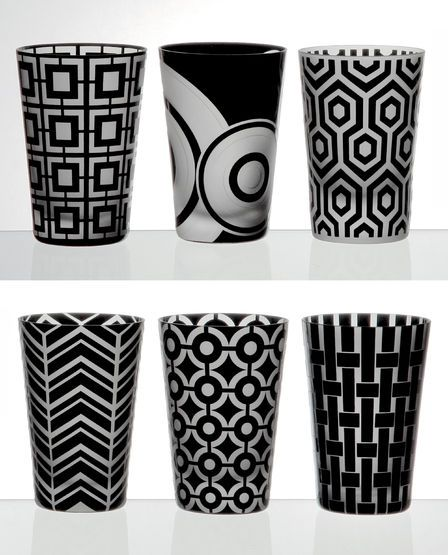 """Graphic Collection"" tumblers by Artel"