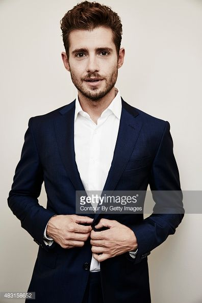 Actor Julian Morris from Amazon Studios' 'Hand Of God' poses in the Getty Images Portrait Studio powered by Samsung Galaxy at the 2015 Summer TCA's at The Beverly Hilton Hotel on August 3, 2015 in Beverly Hills, California.