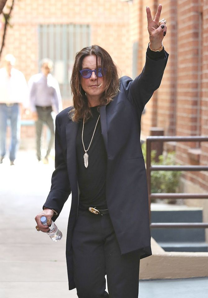 <p>Ozzy Osbourne is all about peace, love, and rock 'n' roll. And bats, he likes those too. (Photo: Splash News)</p>