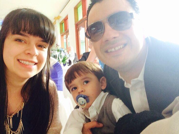 Carlos Diaz, Carolina Ossa y Alejandro