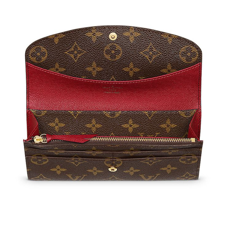 $480  Emilie Wallet Monogram Canvas - The Legendary Monogram | LOUIS VUITTON