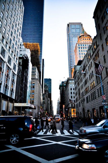 la Quinta Avenida. Además de ser la calle más cara del mundo, esta arteria de más de 11 kilómetros de largo es el templo del glamour y del chic americano. Atraviesa todo Manhattan con una selección de las boutiques más selectas del mundo Cartier, Tiffany's, Saks… en fin, que por muy exigentes que seáis, aqui se encuentra de todo.