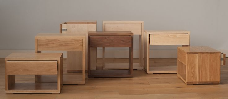 Cube | Modern Bedside Drawer Table | Natural Bed Company