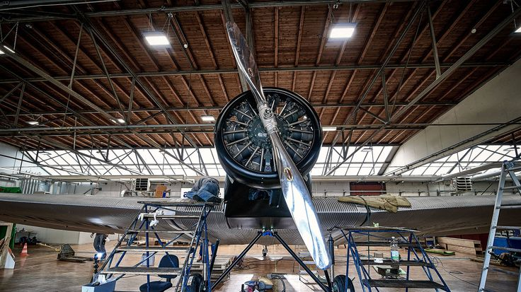 WWII Junkers F13 All-Metal Aircraft are Basically Flying Art Deco Masterpieces Up for Sale #traveling