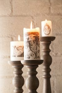 Creative Company   Photocraft: Tissue paper candles