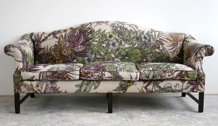 Redone in Upholstery: Opera Botanica Fabric timorous.beasties.com
