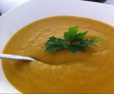 Recipe Sweet Potato and Lentil Soup by Saras Kitchen Addiction - Recipe of category Soups