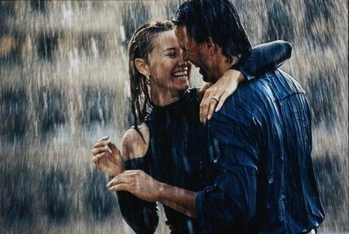 Dancing in the rain ....