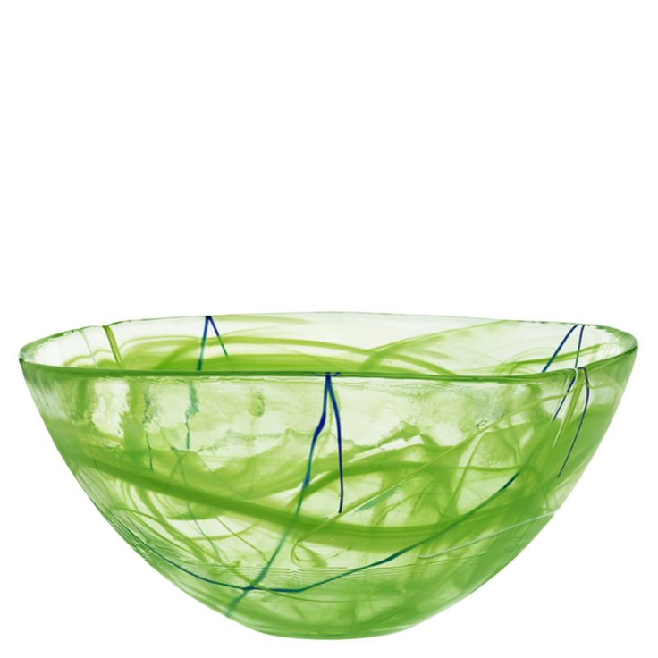 Contrast Lime bowl (Kosta Boda, Sweden)