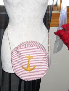 Round Nautical Purse instructions.  Use for Ramona Flowers purse
