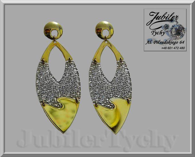 Złote kolczyki wiszące łezki na wkrętki, sztyft  #Złote #kolczyki #wiszące #łezki #wkrętki #sztyft #rodowane #Złoto #Au585 #Gold #jubilertychy #rodowanie #rod #łezka #Jubiler #Tychy #Jeweller #Tyski #Złotnik #Pracownia #Złotnicza w #Tychach #Zaprasza #Promocje: ➡ jubilertychy.pl/promocje