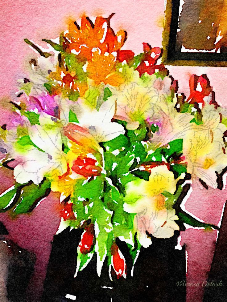 #Birthday #Flowers #Photograph