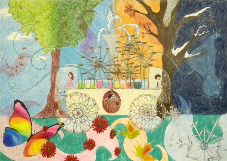 A Car For Enjoying Four Seasons - Juria Hirose | Toyota Dream Car Art Contest