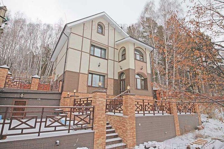 Интерьер коттеджа, фасад коттеджа. Фото коттеджей - СибДизайнер.ru