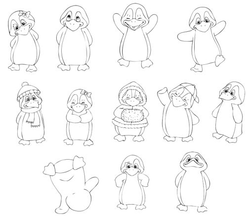 downloads - Pinguin-Klasse - DesignBlog