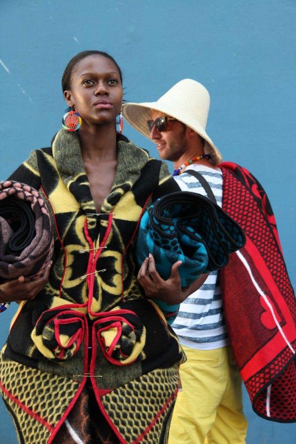 DECO Now: Basotho Blankets - rad! ~Latest African Fashion, African Prints, African fashion styles, African clothing, Nigerian style, Ghanaian fashion, African women dresses, African Bags, African shoes, Nigerian fashion, Ankara, Kitenge, Aso okè, Kenté, brocade ~DK