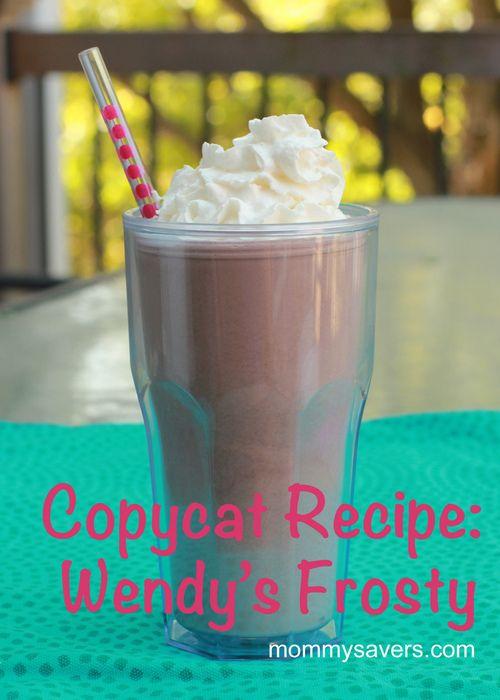 Copycat Wendy's Frosty.  Oh. my. goodness.