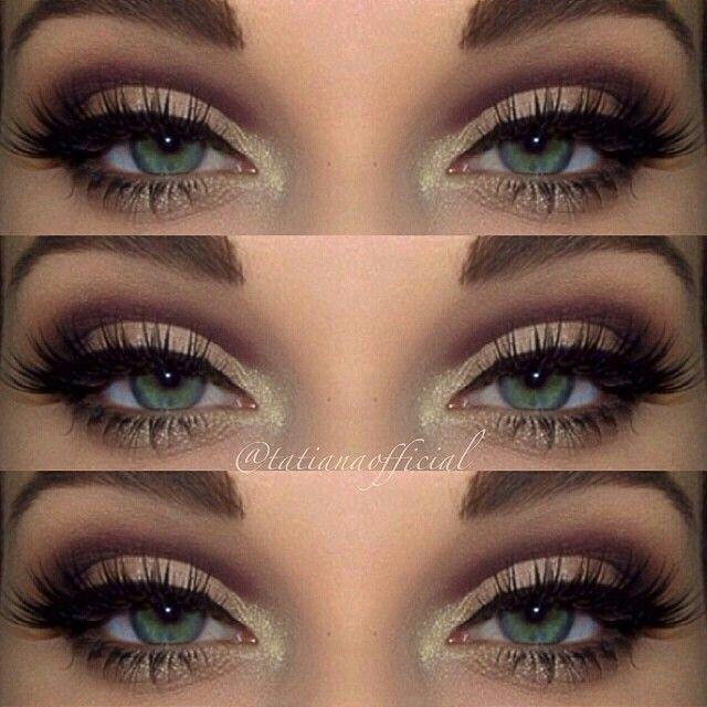 green eyes makeup - photo #28