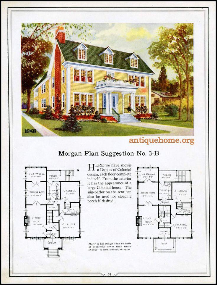 83 best Floorplans sorting images on Pinterest Vintage houses