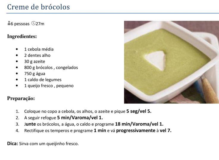 Sopa de brócolos