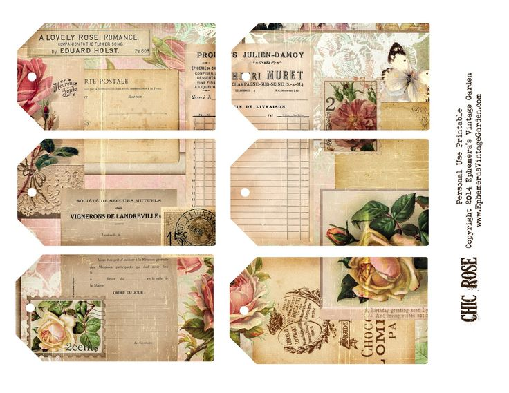 Diy Shabby Chic Holiday Gift Tags Printable \u2013 Best Cars 2018