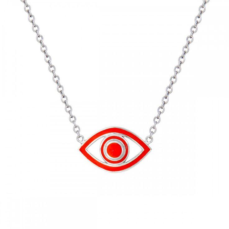 Fortuna Mini Eye Red Pendant