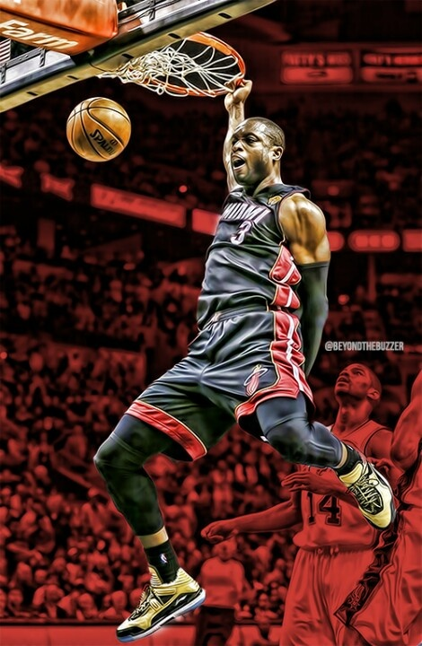 D-Wade Miami #Heat #NBA