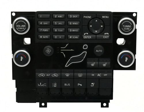 2009-2011 Volvo 60 Series OEM Control Panel w Heated Seat Controls PN 30782903