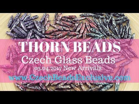 Czech Glass Beads: Thorn Beads – New Arrivals 03.04.2017 | CzechBeadsExclusive